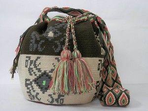 76c897b46172 Колумбийская мочила. Вяжем жаккардовую сумку крючком | Wayuu bags ...