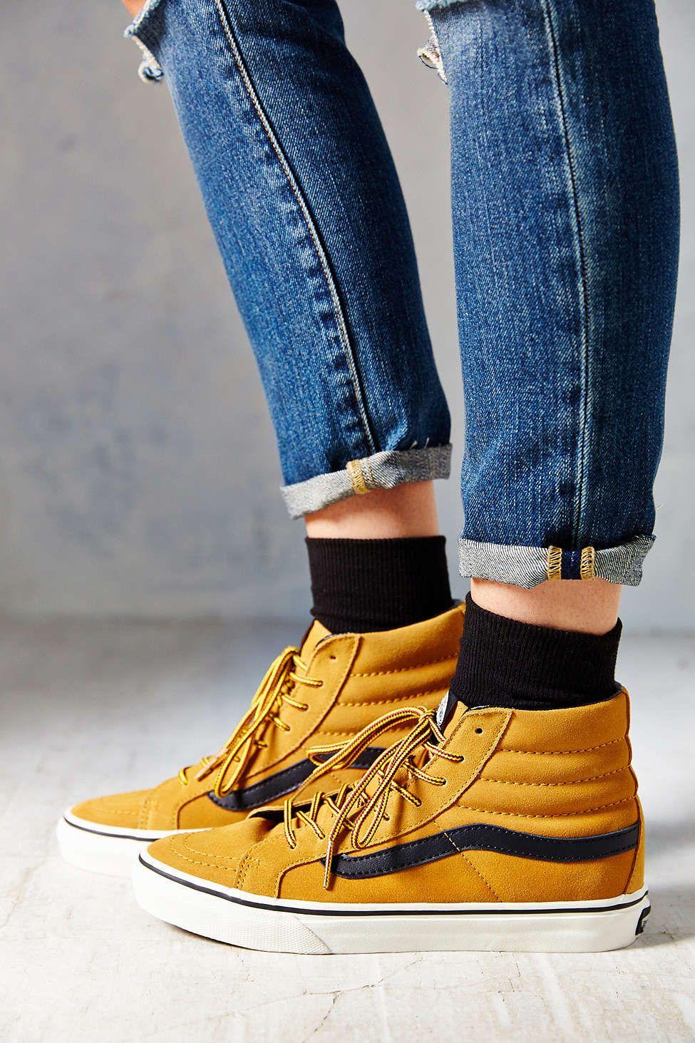 df9ade4e52 Vans Sk8-Hi Slim Hiker Womens High-Top Sneaker - Urban Outfitters ...