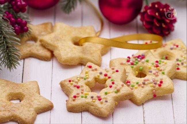 Biscotti Classici Di Natale.Stelle Biscotti Di Natale Ricetta Dolci Pensieri Biscotti Di