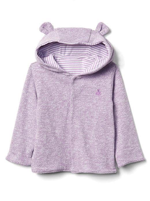 90a8e4f8a product photo Baby Gap Girl, Bear Hoodie, Baby Girl Sweaters, Purple Hoodies ,