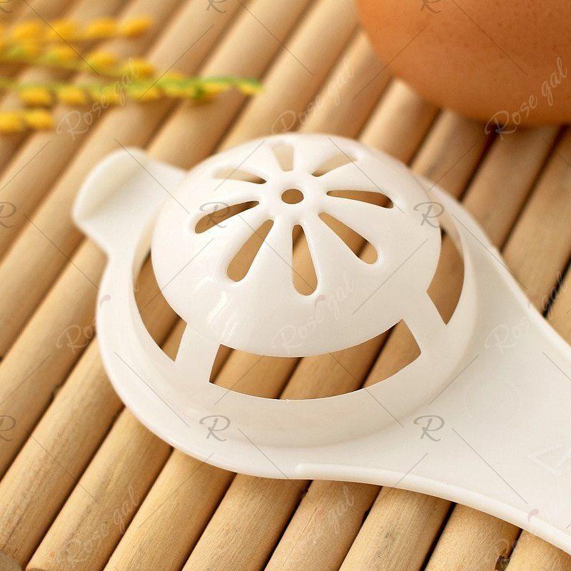 DIHE Plastic Egg Yolk Egg White Separator Filter