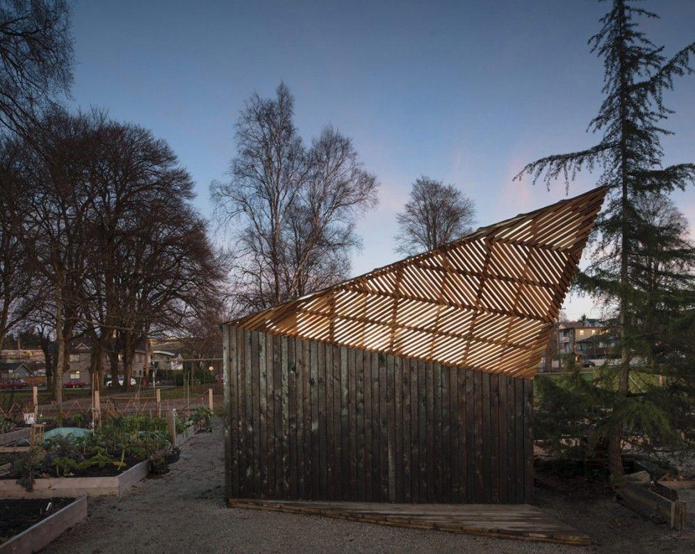 Woodlands Community Garden Shed | Vancouver, Canada | Brendan Callander +  Jason Pielak + Stella