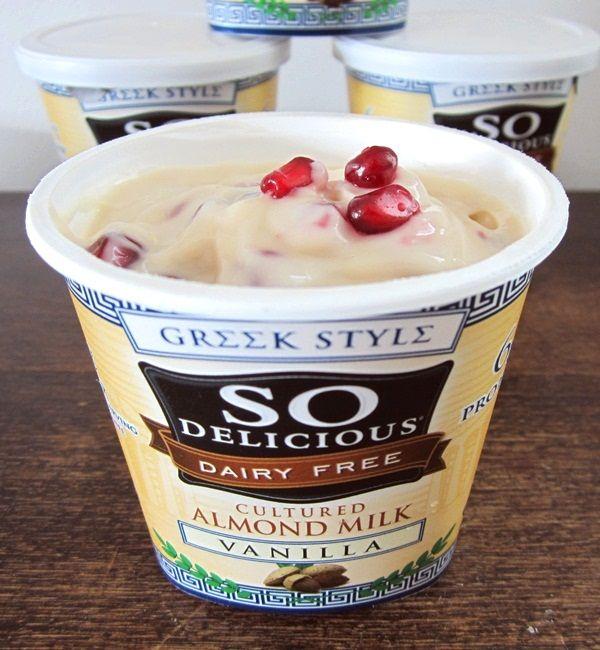So Delicious Greek Style Vegan Almond Yogurt Review Go Dairy Free Dairy Free Yogurt Brands Lactose Free Greek Yogurt Dairy Free Yogurt