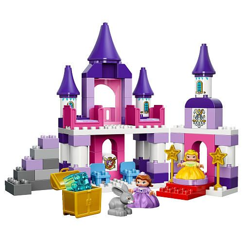 Toys R Us Legos For Girls : Lego duplo sofia the first royal castle