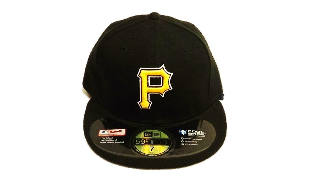 Pittsburgh Pirates Authentic On Field Alternate 59Fifty White Outline Fitted  Hat - Black 1bf7e80a8cd