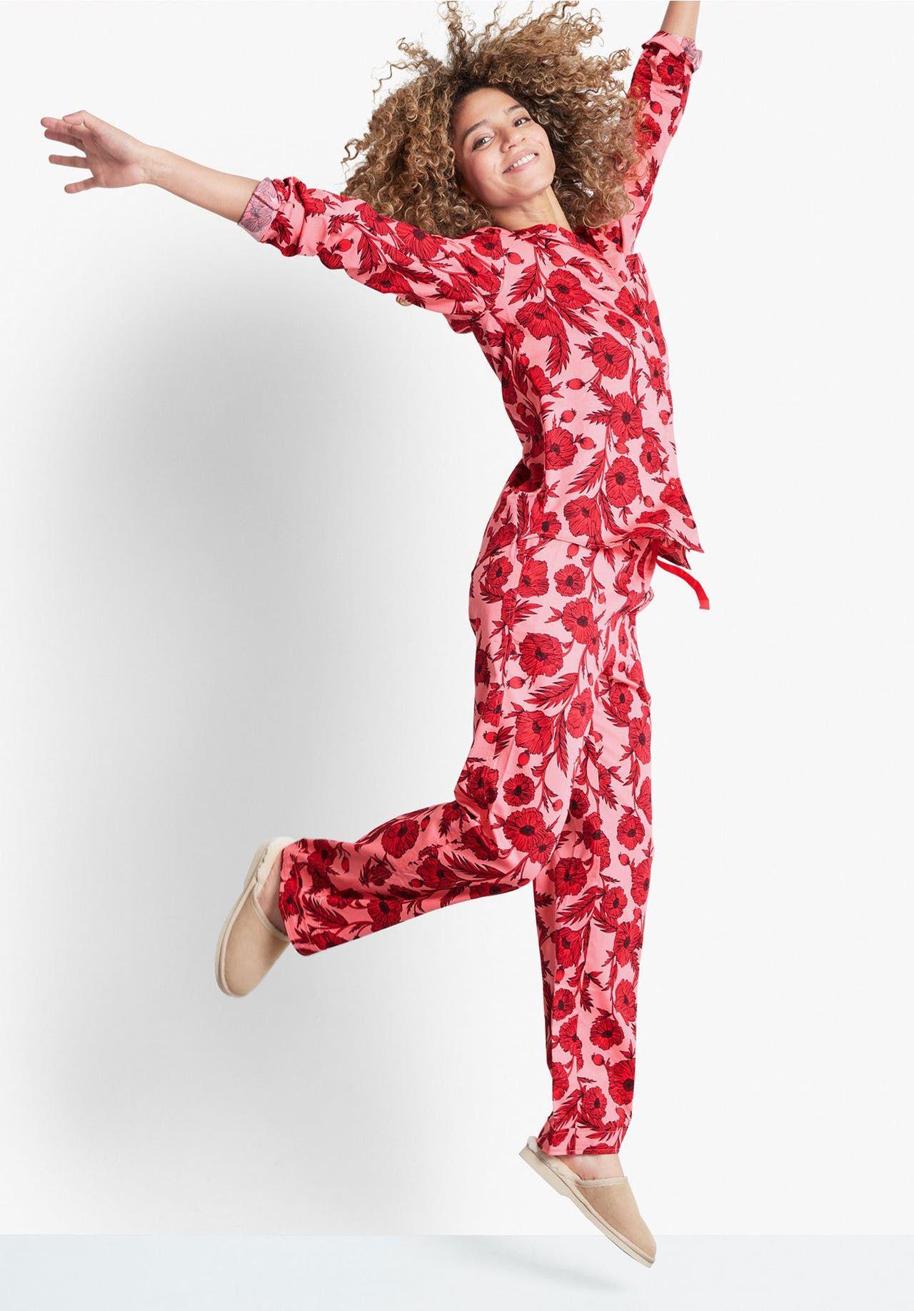 Poppy Cotton Pyjamas Pyjamas, Cotton pyjamas, Summer pajamas