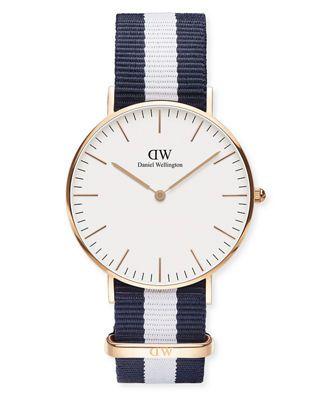 Daniel Wellington 36mm Classic Glasgow Winchester Watch