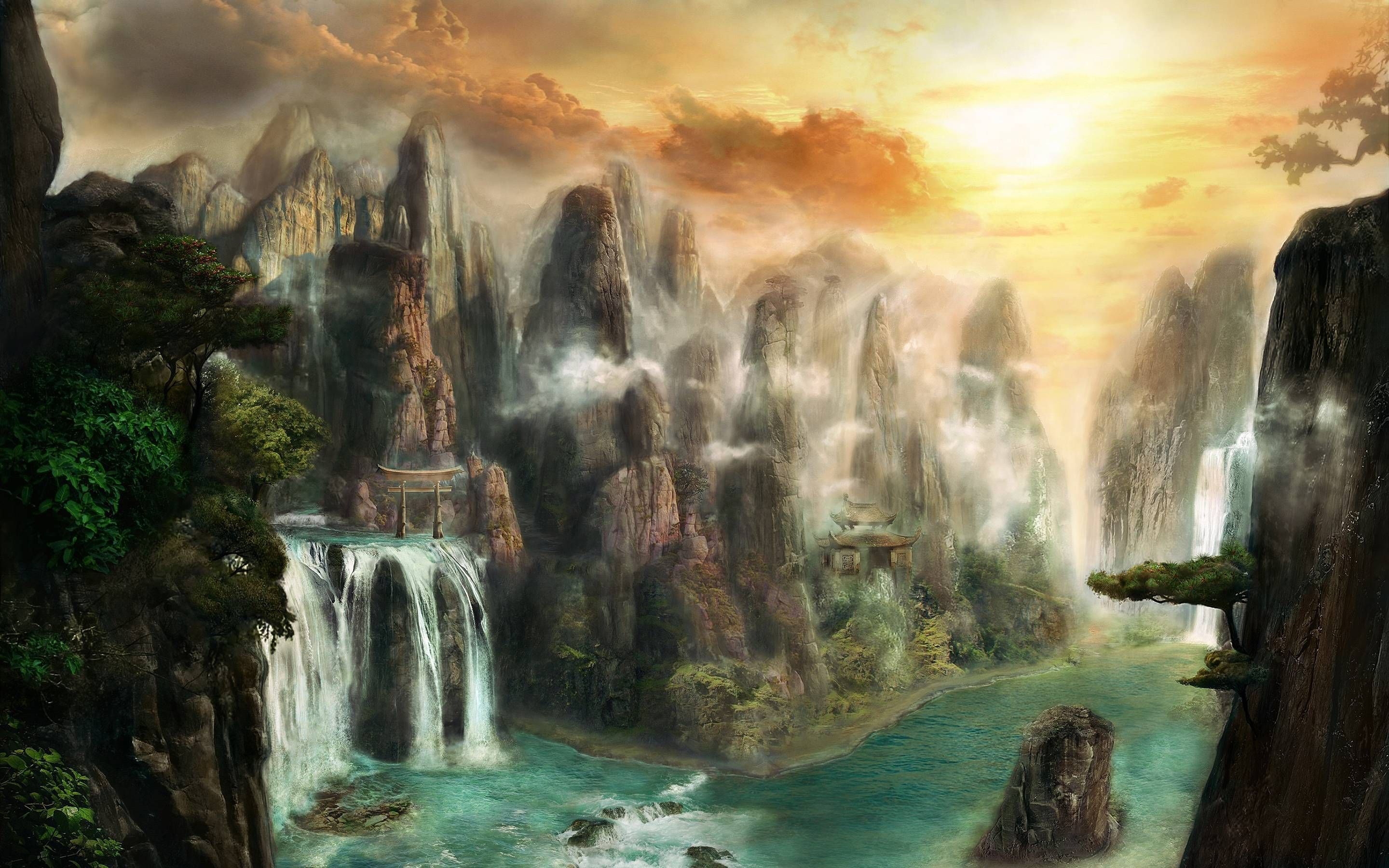 Hd wallpaper zone - Fantasy World Backgrounds Wallpaper Cave Wallpaper Zone