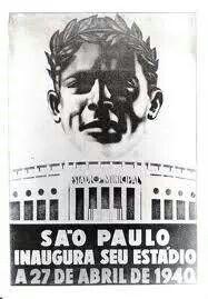 1940 - Inauguração do Pacaembu.