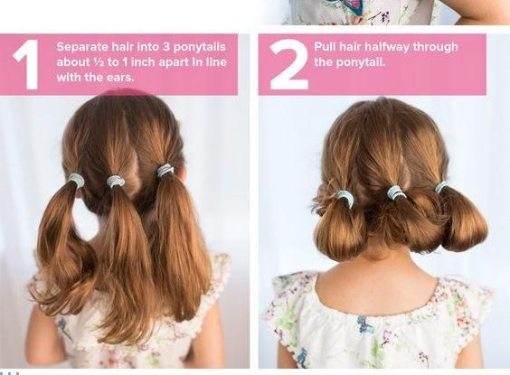Easy And Cute Hairstyles Easy Cute Hairstyles For Girls  Haare  Pinterest