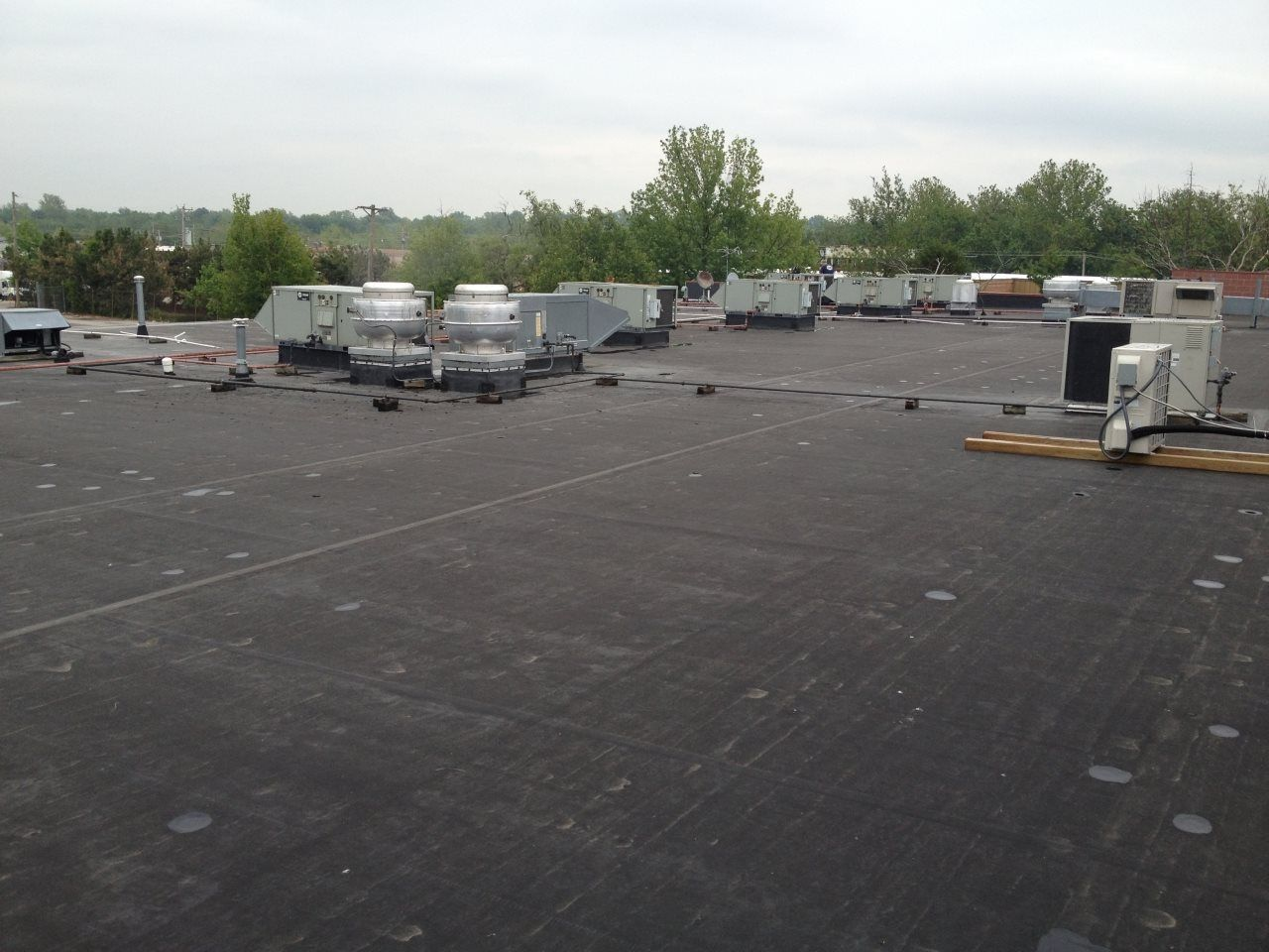 EDPM rubber roofing systems are durable, reliable, and