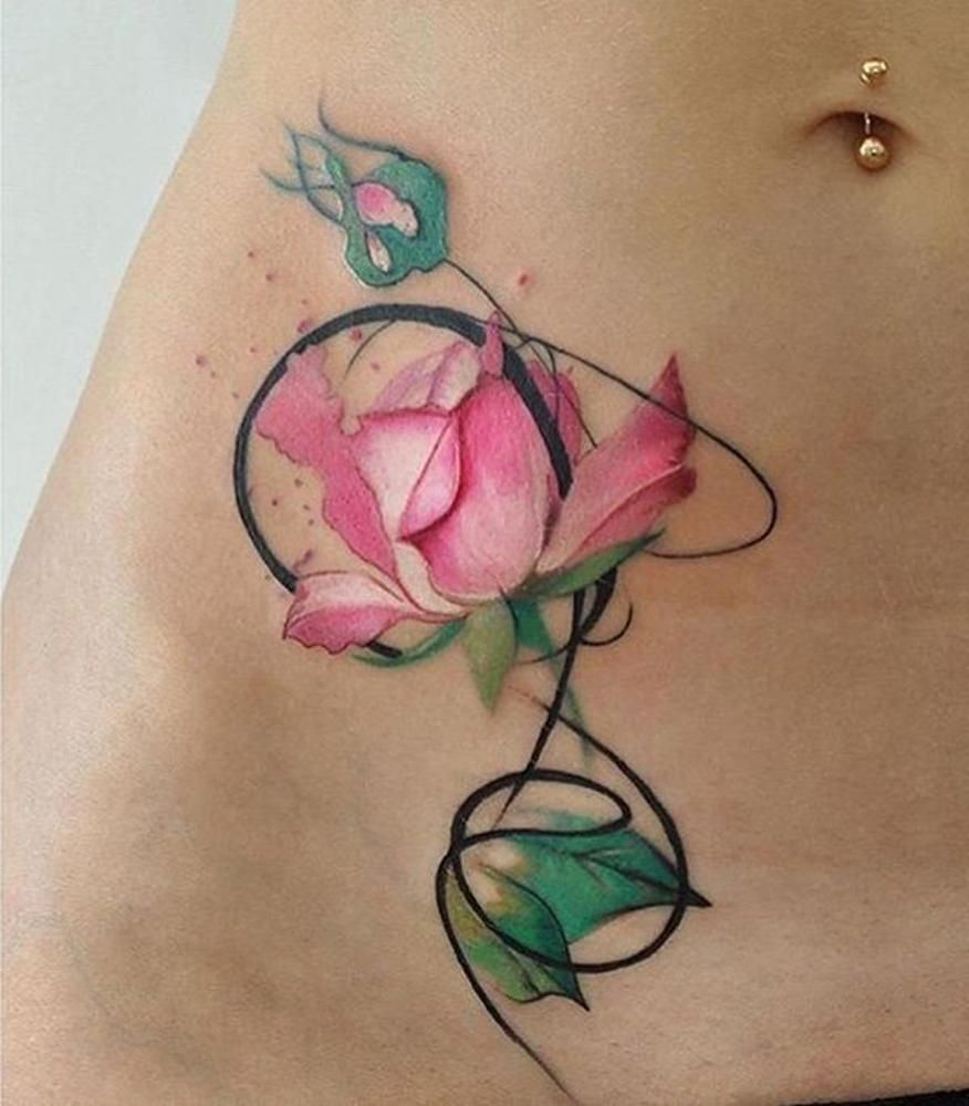 100 Of Most Beautiful Floral Tattoos Ideas