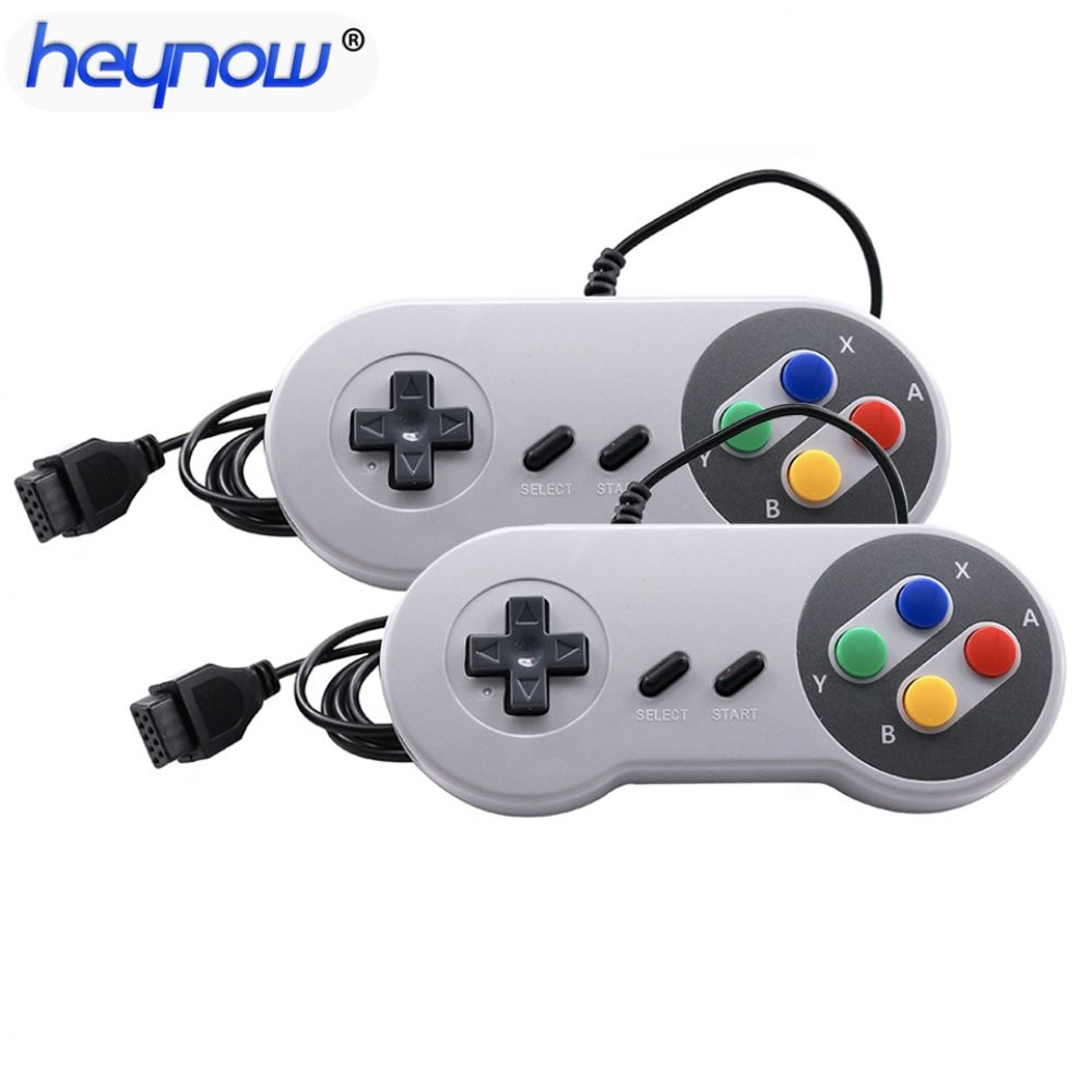 2pcs Universal 9pin Wired Joypad Joystick For Snes Nes Game Controller 150cm Gamepad For Tv Game Console Drop Shipping Www Ulp4u Com Tv Game Console Game Controller Game Console