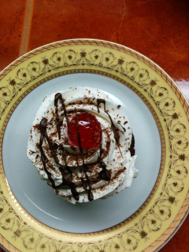 Cupcake selva negra