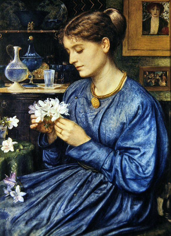 'Portrait of Agnes Macdonald' Edward John Poynter, 1866