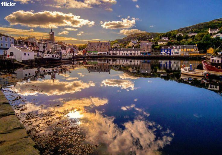 Tarbert Harbour Sunset, Mull of Kintyre