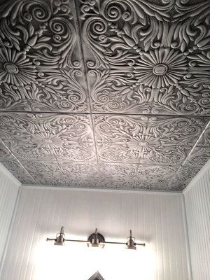 Spanish Silver Styrofoam Ceiling Tile 20 In X 20 In R139 Styrofoam Ceiling Tiles Ceiling Tiles Decorative Ceiling Tile