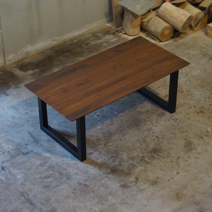 Tavolo legno massello di castagno con bordi 45 gradi