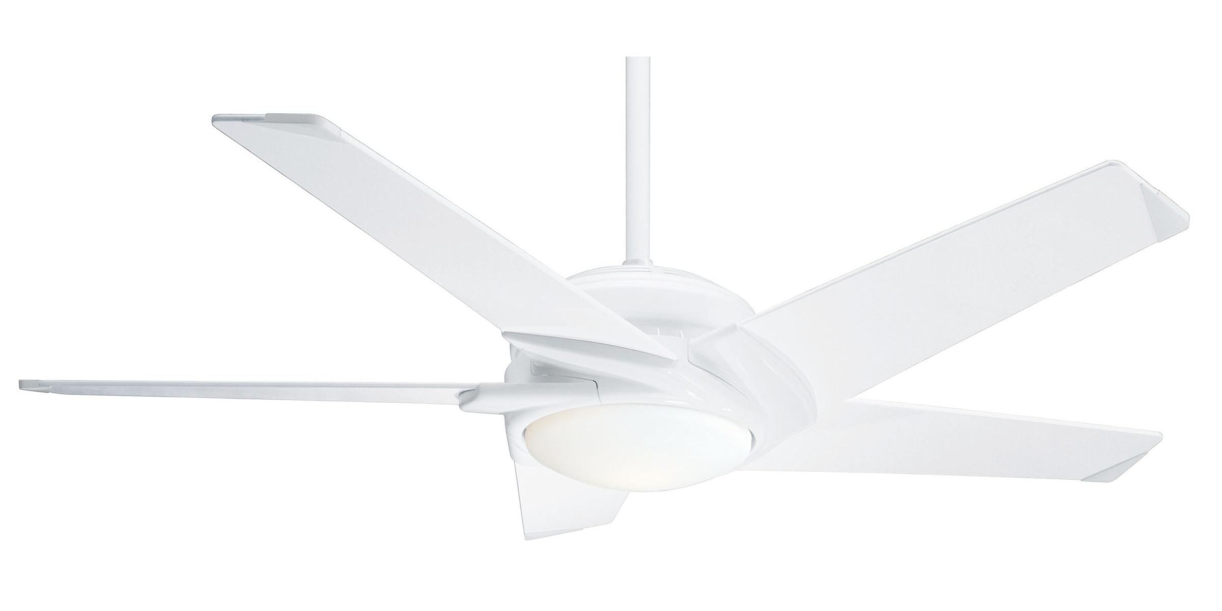 Casablanca dc led stealth ca 59165 airflow rating 6142 cfm cubic casablanca dc led stealth ceiling fan in snow white guaranteed lowest price aloadofball Image collections