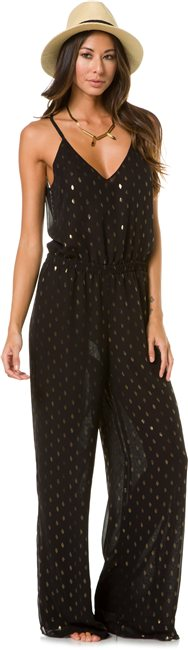 EIGHT SIXTY BLACK AND GOLD JUMPSUIT   http://www.swell.com/EIGHT-SIXTY-BLACK-AND-GOLD-JUMPSUIT?cs=BL
