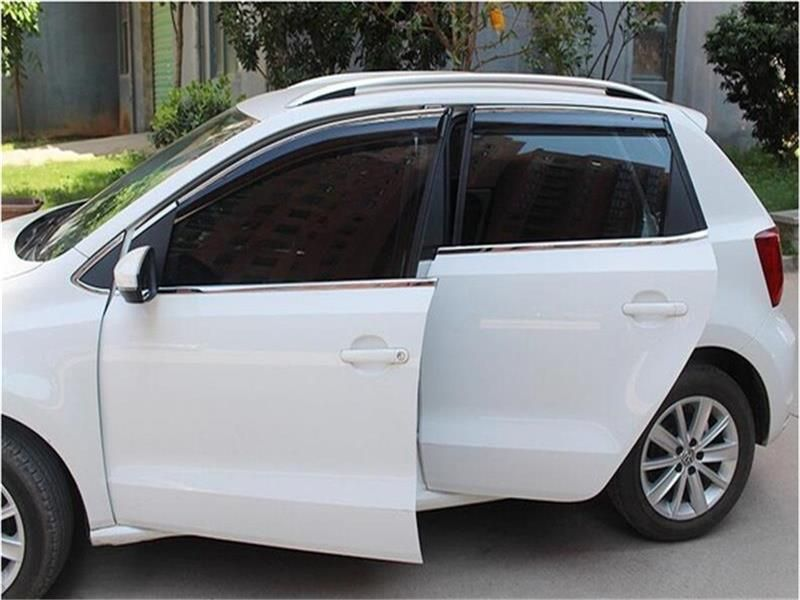 Diamond Window Visor Vent Rain Sun Guard for 2013 2016 Hyundai Santa Fe SPORT