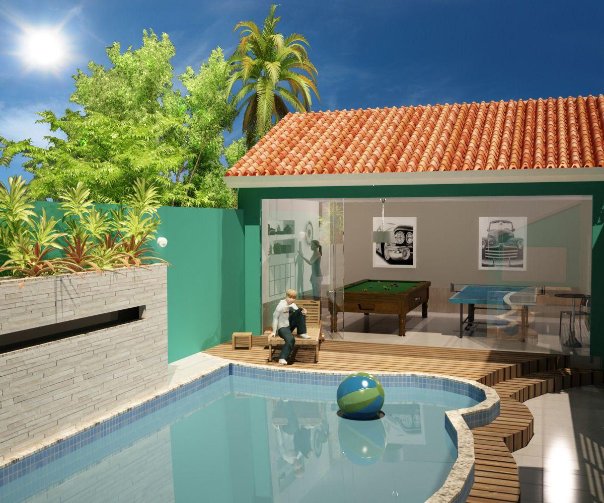 55 Small Recreation Area Designs And Models Areas De Lazer