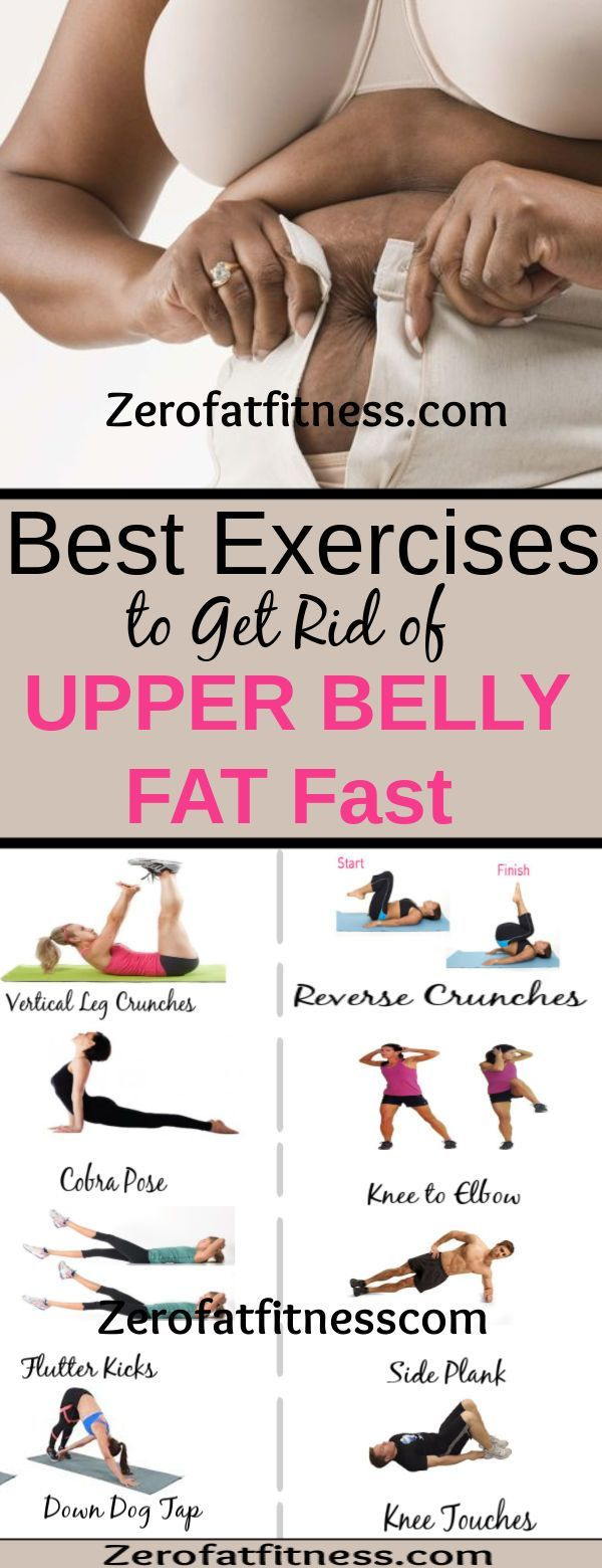 12 Best Exercises to Lose Upper Belly Fat in 1 Week at Home. If your goal is to get rid of belly fat...