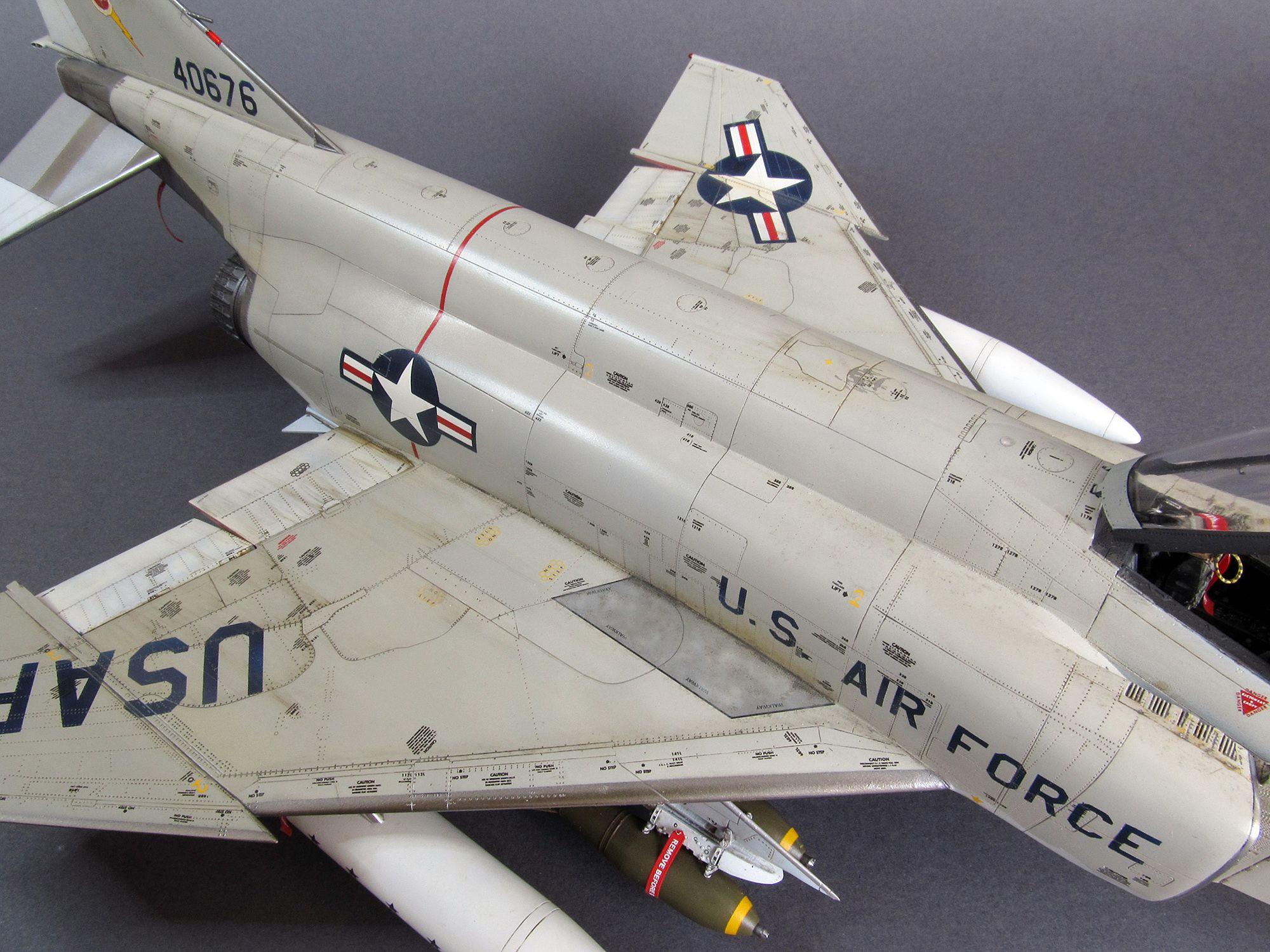 McDonnell F4C Phantom II, USAF (1/48, Eduard) The