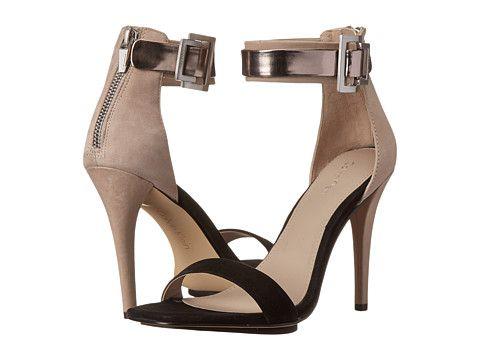Calvin Klein Calvin Klein  SableGreige Nubuck Womens Dress Sandals for 59.99 at Im in!