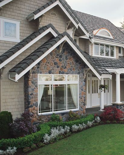 Cultured Stone Photo Galleries Exterior House Siding House Exterior House Siding