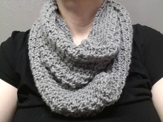 Infinity Scarf by JensNeedleKnows on Etsy, $38.00