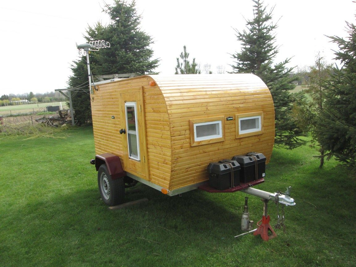 Custom Built 2014 Woody Teardrop Camper For Sale Bicycle Home And