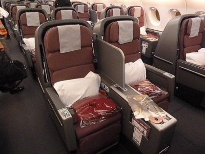 Qantas Airbus A380 Business Class Seats They Look Exactly The