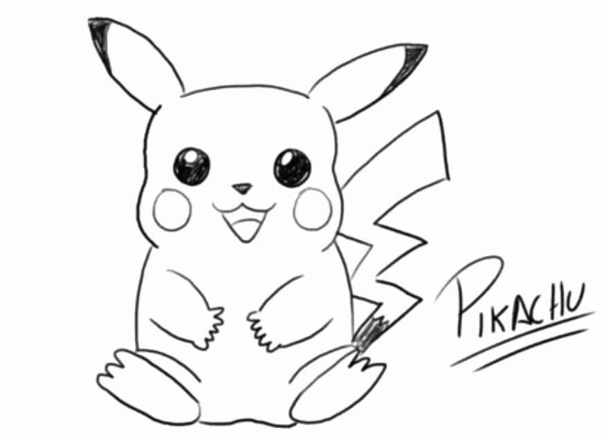 VIDEO - Como dibujar a Pikachu de Pokémon | Lern to draw | Pinterest ...