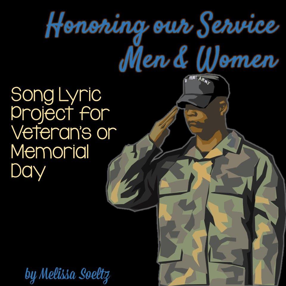 Veteran's Day And Memorial Day