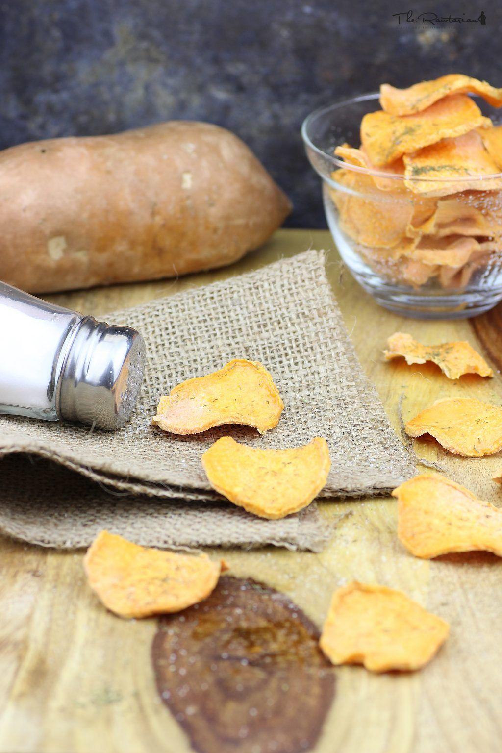 Raw Yam Chips