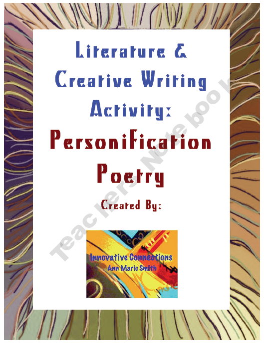 Teach personification through poetry writing activity and rubric teach personification through poetry writing activity and rubric stopboris Image collections