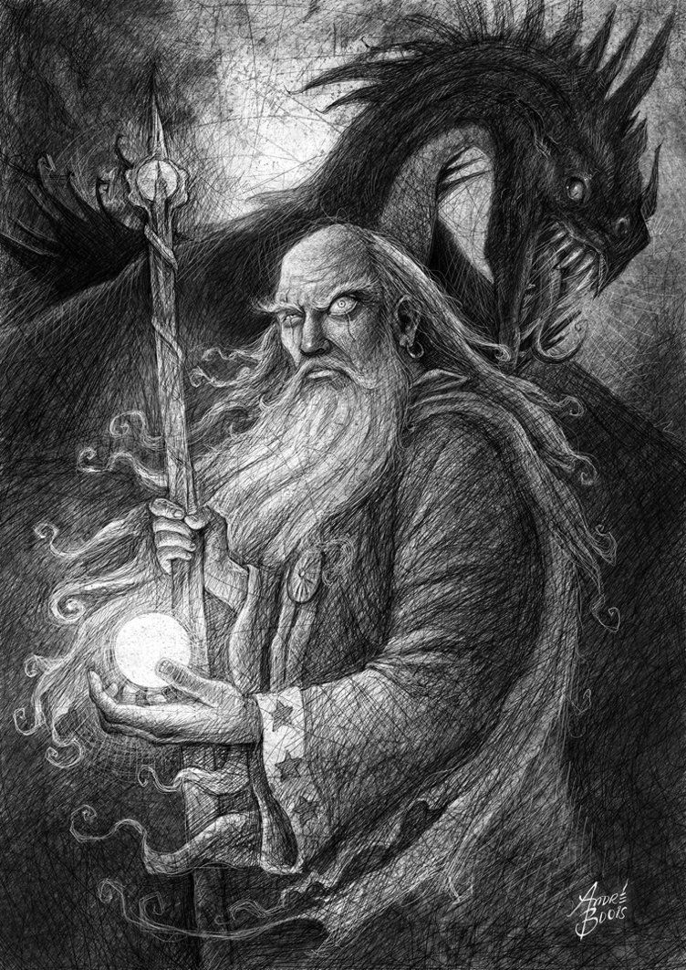 Dark Wizard Drawings | www.pixshark.com - Images Galleries ...