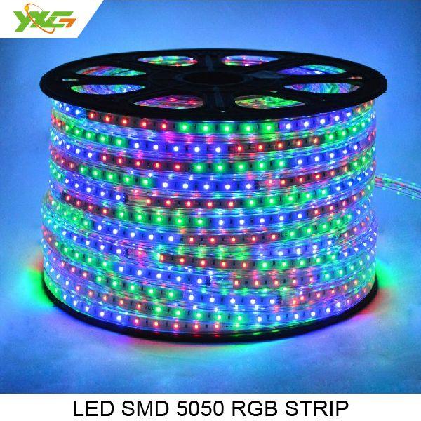 Free Shipping 5050 Smd Rgb Led Strip Light 220v 300 Led Strip