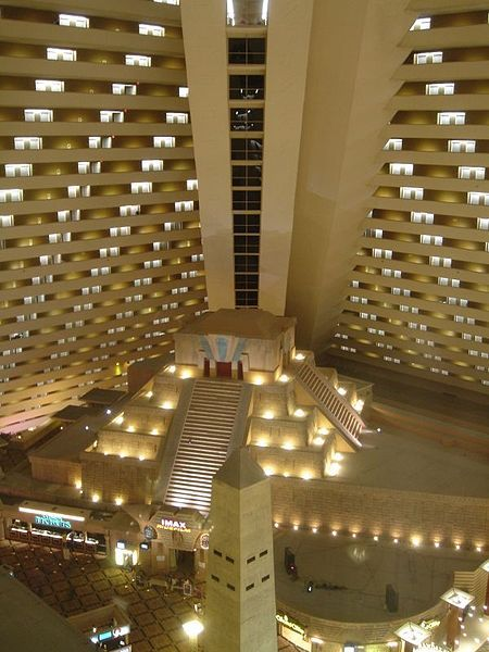 Inside The Luxor I Loved Elevators Which Moved Upward At An Angle Hell Just Love This Entire Hotel Photo By Markus 2007