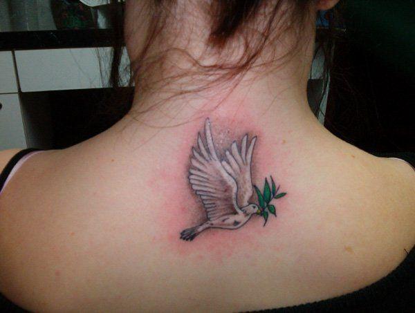 1d05e7d58 55 Peaceful Dove Tattoos   Tattoo Ideas   Dove tattoos, Dove tattoo ...
