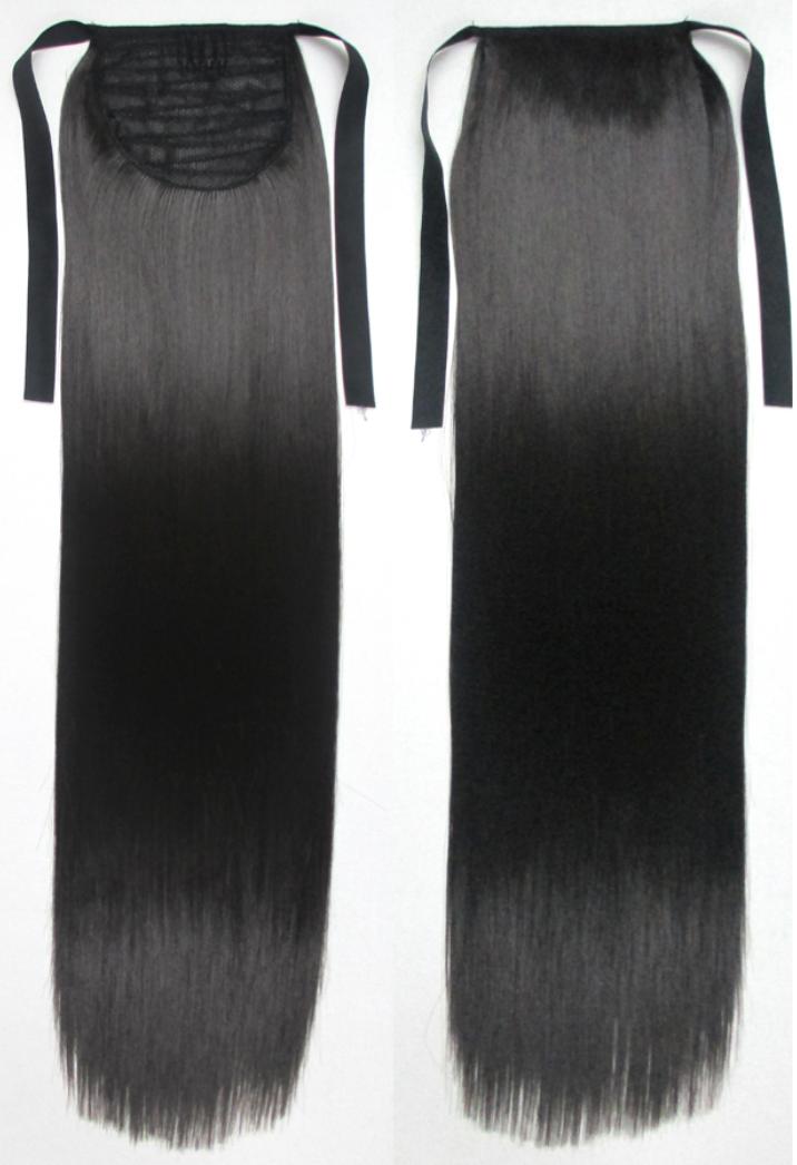 Dark Brown Clip In Ponytail Hair Extension By Deva Look Uk Complete