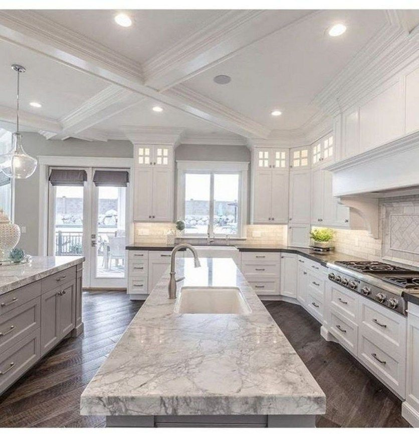 49 Fancy White Kitchen Design And Decor Ideas That Looks Cool