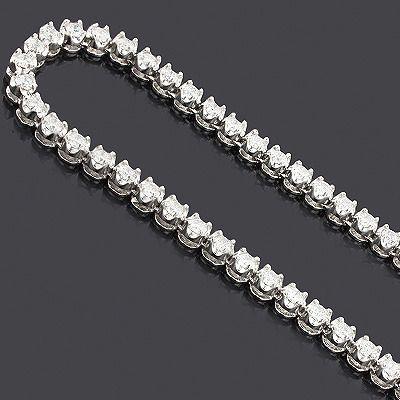 Eternity Diamond Necklace Chain 14k 25 03ct Mens Diamond Jewelry Diamond Chains For Men Eternity Diamond Necklace