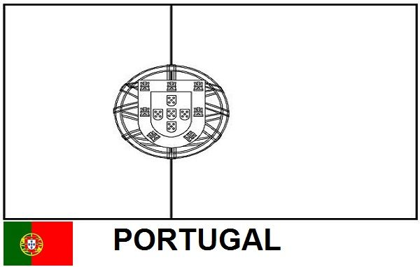 Bandeira Para Colorir Copa Do Mundo 2014 Desenho Pintar