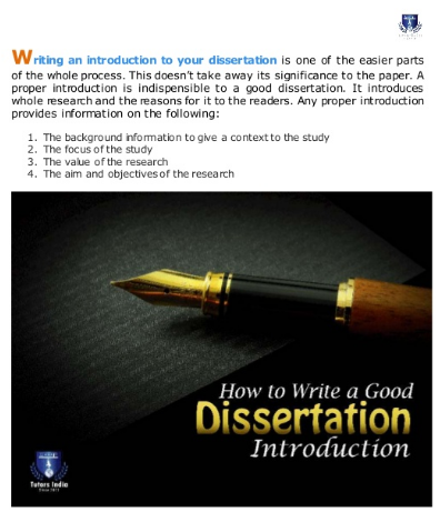 How To Write A Dissertation Introduction For Master Phd Writing Introductions What In