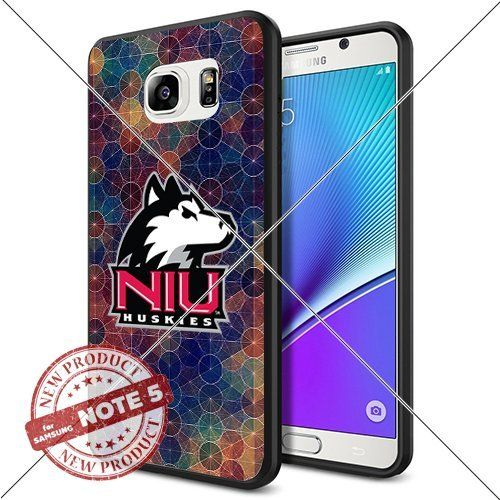 NEW Northern Illinois Huskies Logo NCAA #1400 Samsung Note5 Black Case Smartphone Case Cover Collector TPU Rubber original by SHUMMA [Circle], http://www.amazon.com/dp/B01849D1EK/ref=cm_sw_r_pi_awdm_hKv8wb15JCG8S
