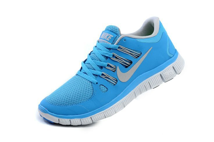 948fdf2a6e07 Nike Free Trainer Blue Light Gray For Running Womens Nike Frees Sneakers off