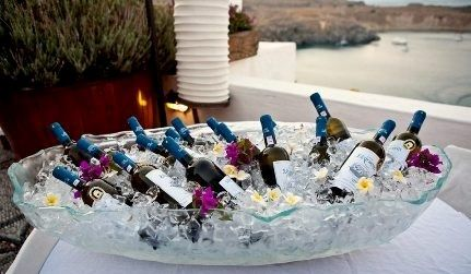 Large Ice Tub For Chilling Wine And Champagne At