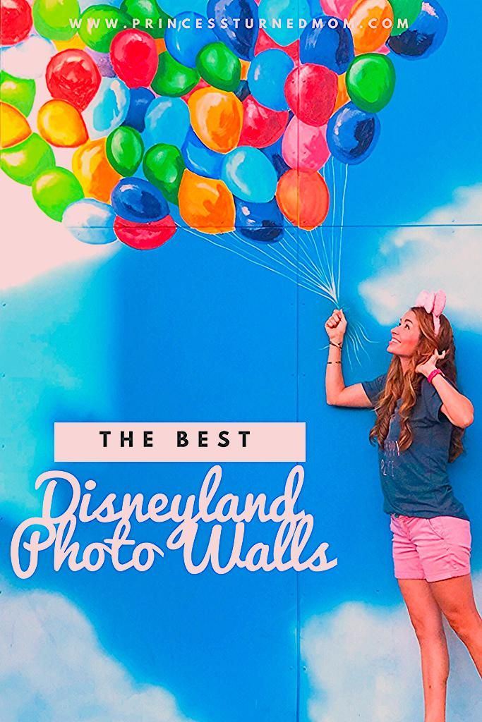 Photo of The Best Disneyland Photo Walls – Princess Turned Mom